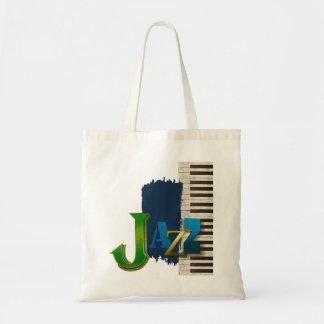 Jazz Budget Tote Bag
