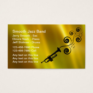 Jazz Band Business Cards
