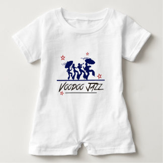 Jazz band new Orleans Baby Romper