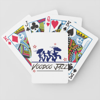 Jazz band new Orleans Bicycle Playing Cards