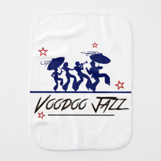 Jazz band new Orleans Burp Cloth