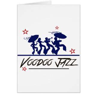 Jazz band new Orleans Card