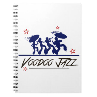 Jazz band new Orleans Spiral Note Book