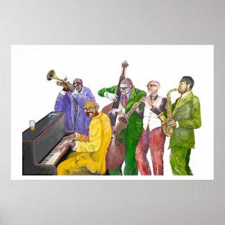 """Jazz band"" Print"