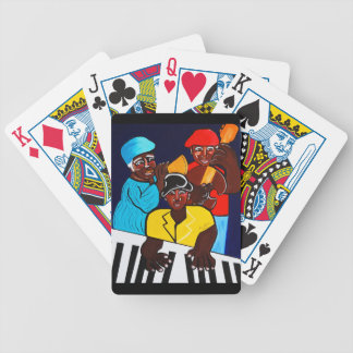 JAZZ BAND  SUNSHINE BAND BICYCLE PLAYING CARDS