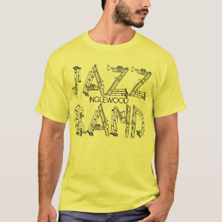 Jazz Band Tee For Guys & Girls