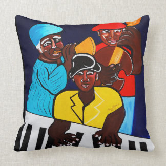JAZZ BAND THROW PILLOW