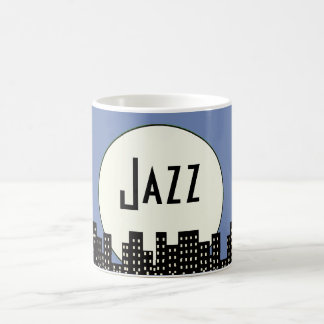Jazz (blue) coffee mug