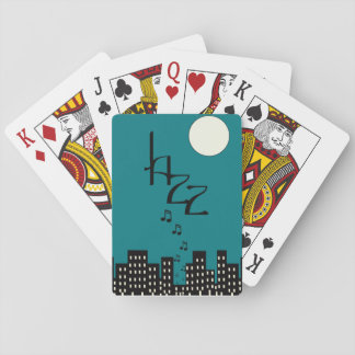 Jazz (blue) poker deck