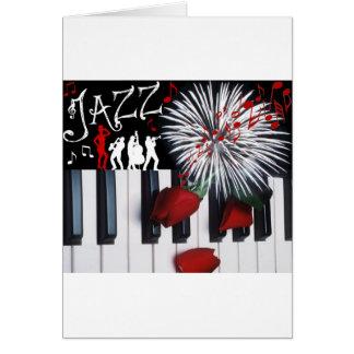 JAZZ CELEBRATION GREETING CARD