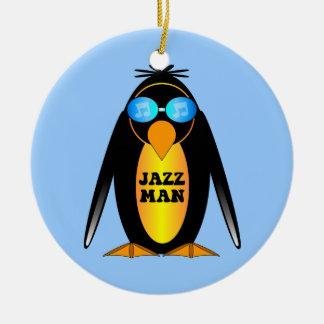 jazz ceramic ornament