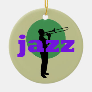 Jazz Ceramic Ornament