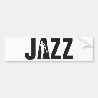 Jazz Clarinet more player Bumper Sticker
