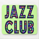 Jazz Club Mouse Pads