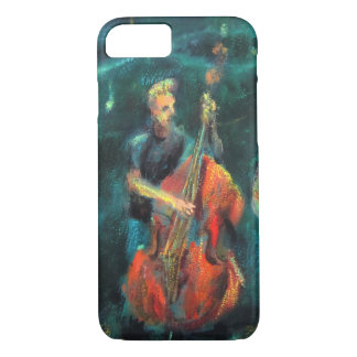 Jazz concert AT night iPhone 7 Case