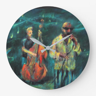 Jazz concert large clock