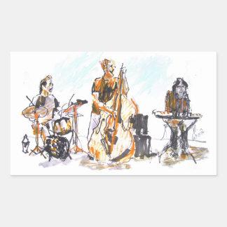 Jazz Concert Trio Sticker