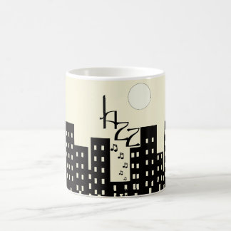 Jazz (cream) coffee mug