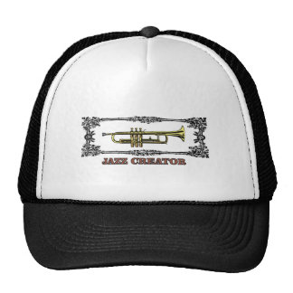 jazz creator frame trucker hat