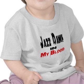 Jazz Dance In My Blood Tee Shirts