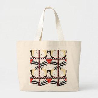 Jazz Dance Jumbo Tote Bag