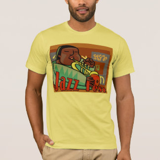 Jazz Fest Horn T-Shirt