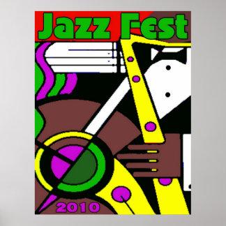 Jazz Fest Poster 2010