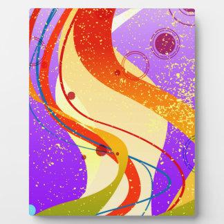 Jazz Fleck Background Plaque