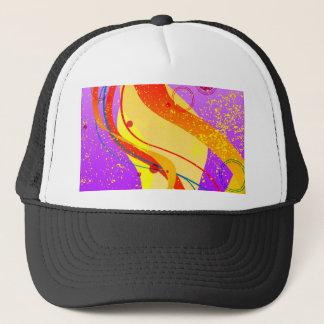Jazz Fleck Background Trucker Hat