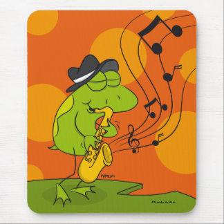 Jazz Frog mousepad