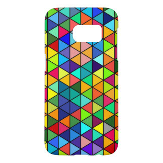 Jazz funk S7 Triangles Samsung Galaxy S7 Case