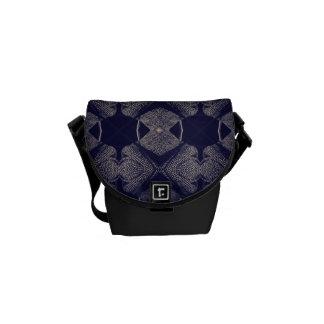 Jazz funk tweed commuter bag