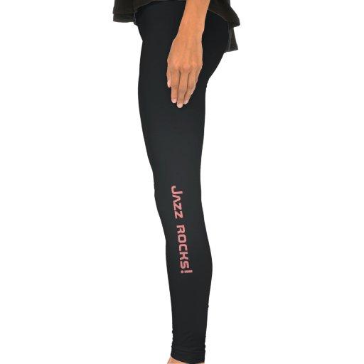 Jazz girl, Jazz rocks leggings for the jazz dancer