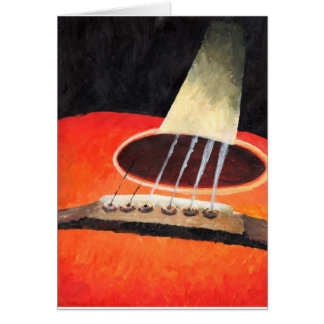 Jazz Guitar Card