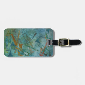 Jazz Improvisation Luggage Tag