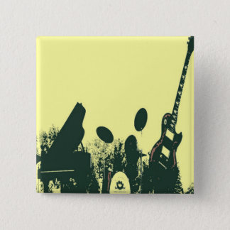 Jazz it Up/Band 2 Inch Square Button
