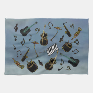 Jazz it Up Kitchen Towel