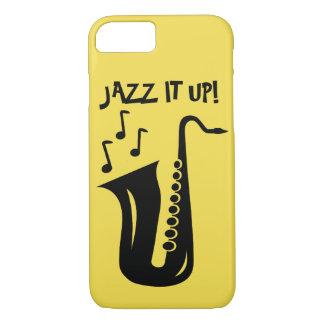 Jazz it up saxophone Iphone 7 8 x case