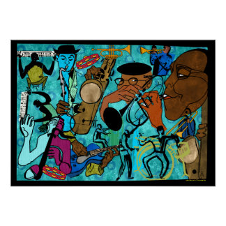 Jazz Jammers Poster
