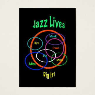 Jazz Lives ATC Business Card