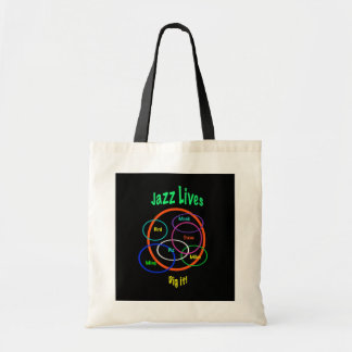 Jazz Lives Budget Tote Bag