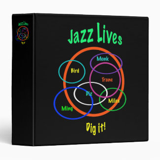 Jazz Lives Vinyl Binder