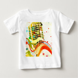 Jazz Microphone Poster Baby T-Shirt