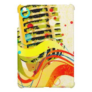 Jazz Microphone Poster iPad Mini Cases