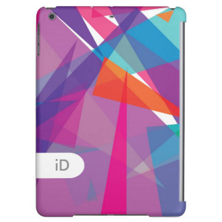 JAZZ | modern abstract colorful triangles iPad Air Cases