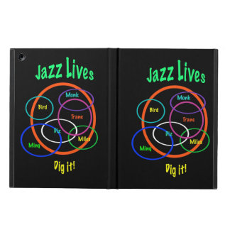 Jazz Music Case For iPad Air