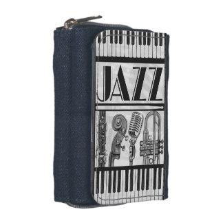 Jazz Music Instruments Wallet