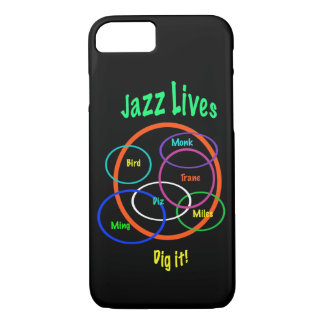 Jazz Music Lives iPhone 7 Case