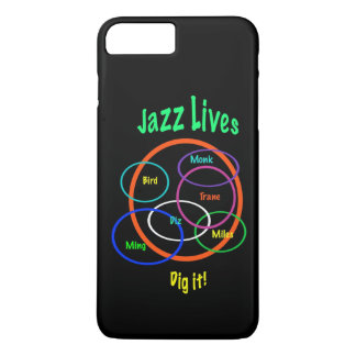 Jazz Music Lives iPhone 7 Plus Case