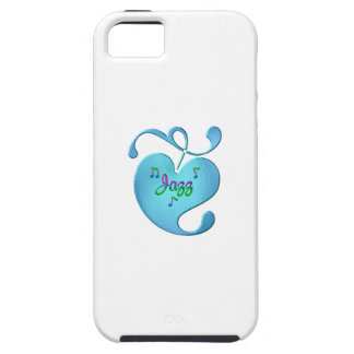 Jazz Music Love iPhone 5 Case